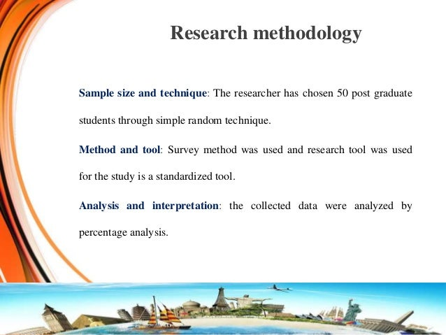 the perceptions of tourism research Research association: advancing tourism research globally by an  there  were many studies done on local residents' perception on tourism but only few.