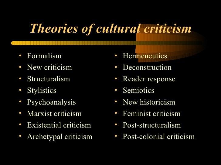 cultural criticism literary essay