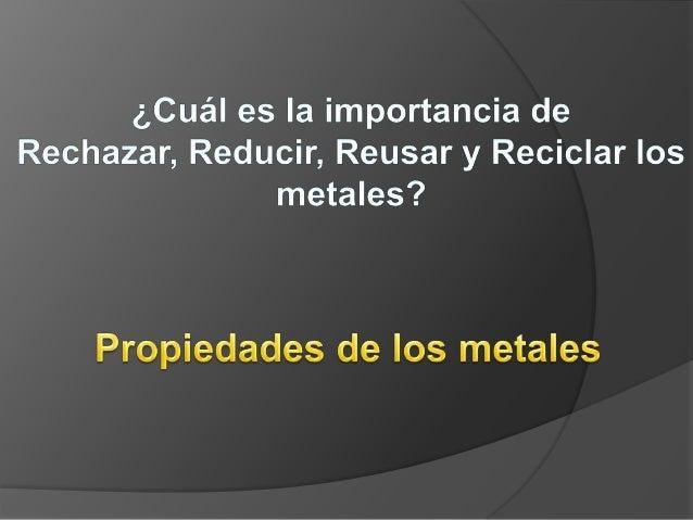 LOS METALES Los metales son materiales que se obtienen a partir de minerales que forman parte de las rocas.