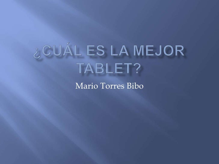 Mario Torres Bibo