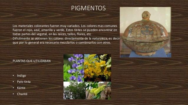 materiales de la cultura mesoamericana