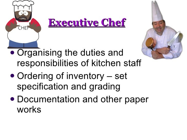 head chef job description. duties responsibilities of head chef ...