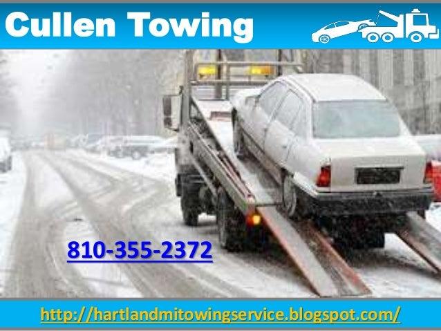 http://hartlandmitowingservice.blogspot.com/ Cullen Towing 810-355-2372