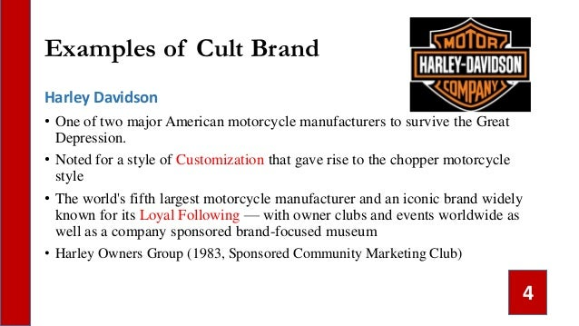 509e978a 3; 4. Examples of Cult Brand Harley Davidson ...