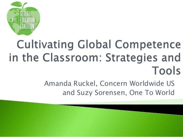 Amanda Ruckel, Concern Worldwide US and Suzy Sorensen, One To World