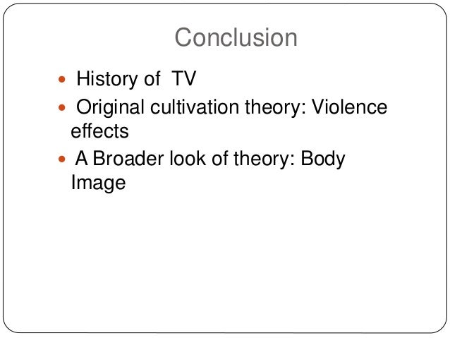 history of cultivation theory