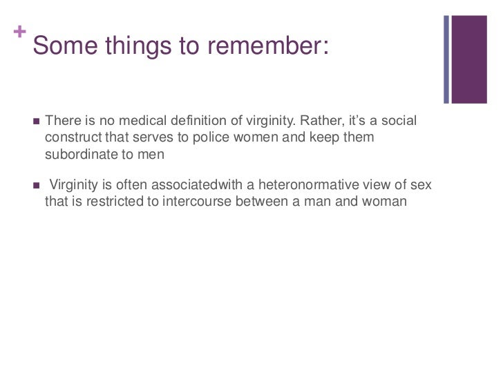 Cult of female virginity