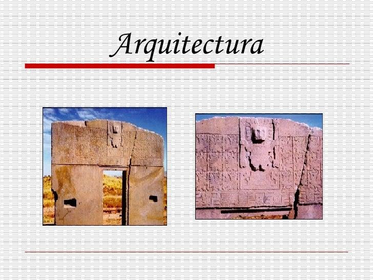 Cultura tiahuanaco for Conceptualizacion de la arquitectura