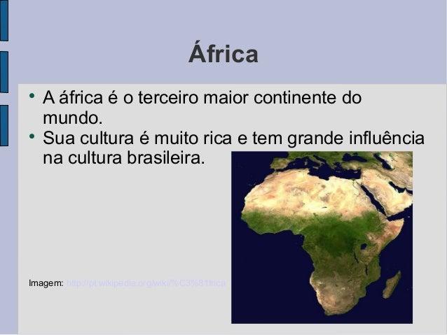 Cultura africana 3° ano Slide 2