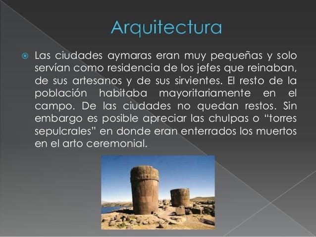 Cultura aymara for Arquitectura quechua
