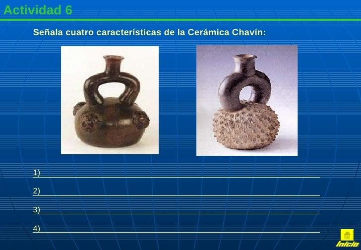 Cultura chavin for Concepto de ceramica