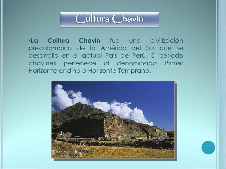 Cultura chavin Slide 2