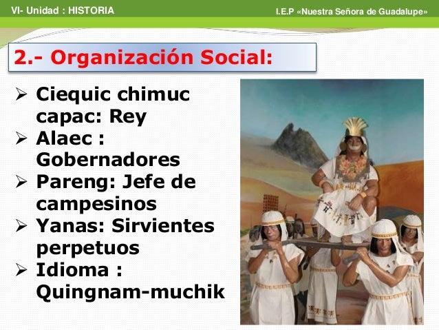 Resultado de imagem para la cultura chimú organizacion social