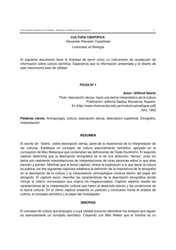 Universidad Autónoma de Colombia - Maestría en Didáctica de las Ciencias                                     1            ...