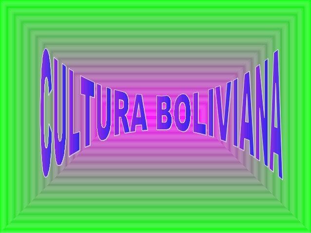 Las fiestas en Bolivia  son generalmente  paganas y se expresan  mediante rituales y  danzas que son  movidos por la Fe  -...