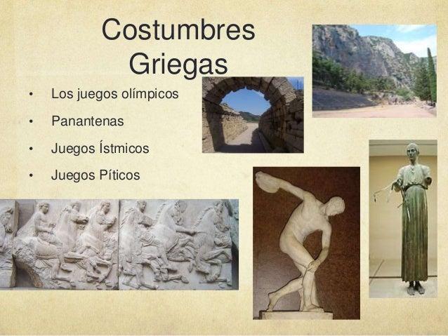 Cultura de la antigua grecia ie2 la guajira for Costumbres de grecia