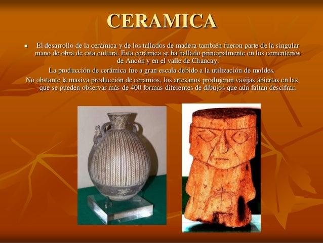 Cultura de los inca for Que es ceramica