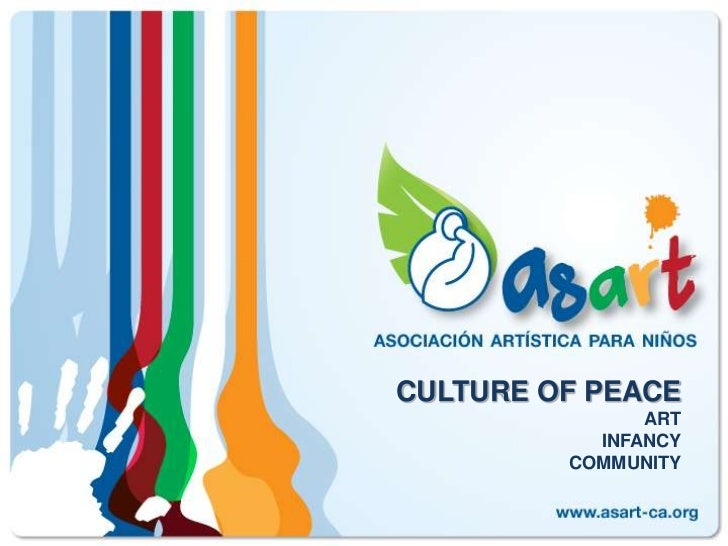 CULTURE OF PEACEARTINFANCYCOMMUNITY<br />