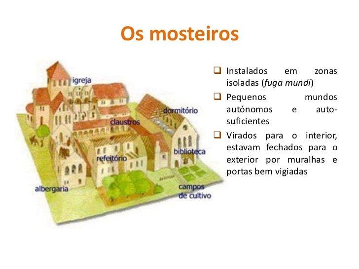 As atividades no mosteiroAssistência a doentes,peregrinos e mendigos.