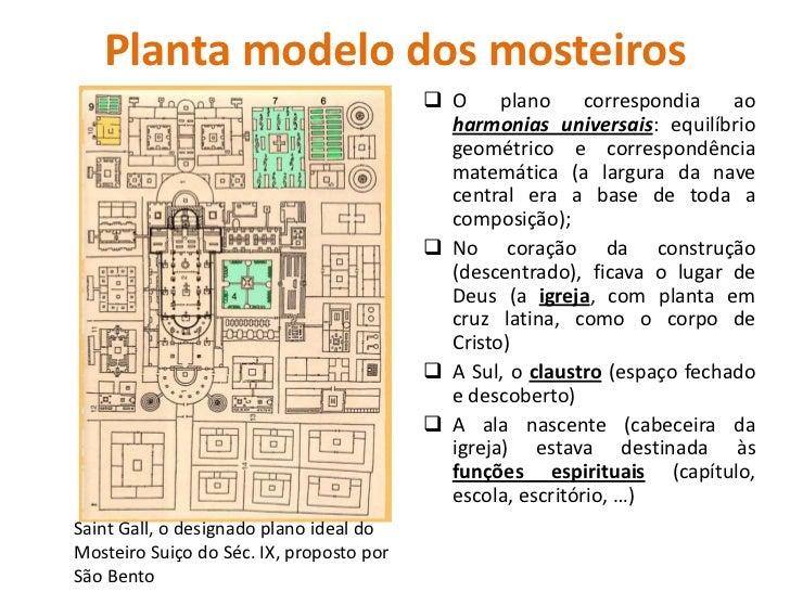 A importância dos mosteiros                           Difusão de técnicas e                             Práticas agrícolas...