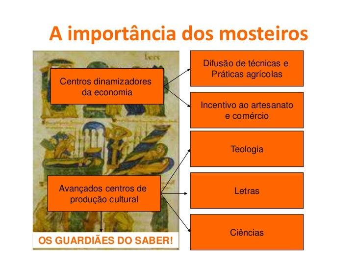 OS GUARDIÃES DO SABER Depressão cultural (séculos V-VIII)            CLERO                                            Os l...