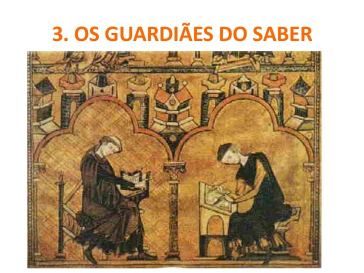 OS GUARDIÃES DO SABER    O renascimento carolíngio (século IX)