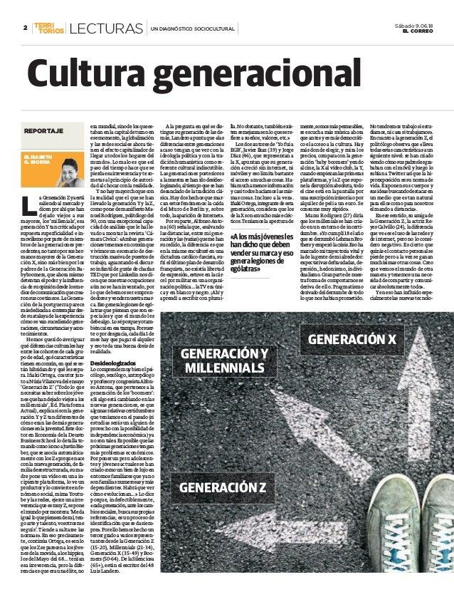 L aGeneraciónZyaestá saliendoalmercadoy dicenporahíquehan dejado viejos a sus mayores, los 'millenials', esa generaciónY t...