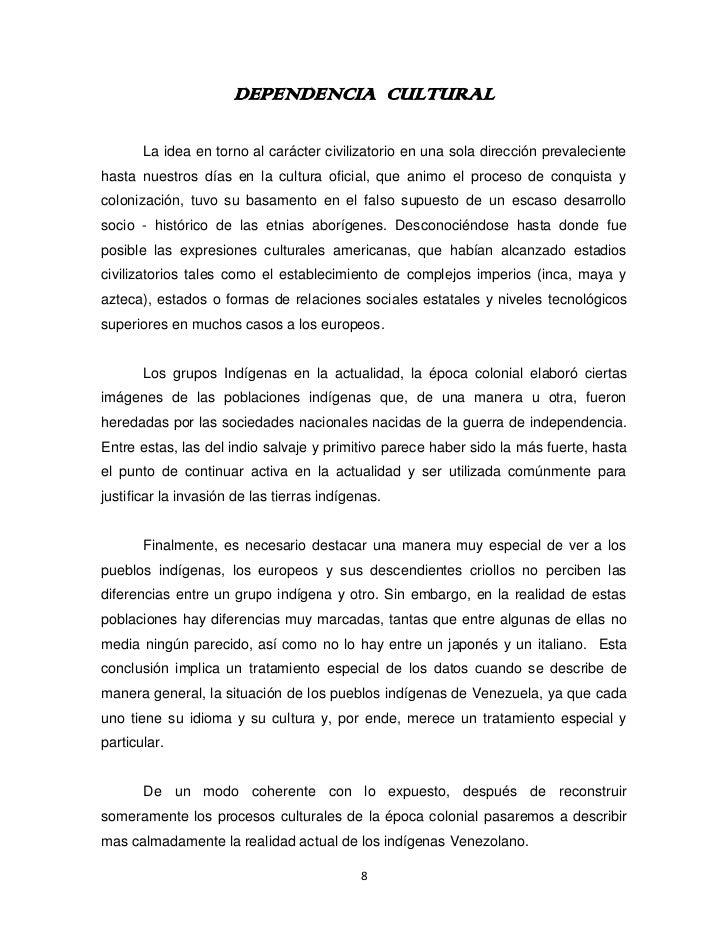 Historia de la Cultura en Venezuela