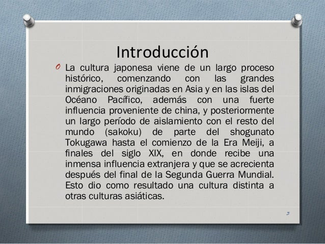 Cultura japonesa Slide 3