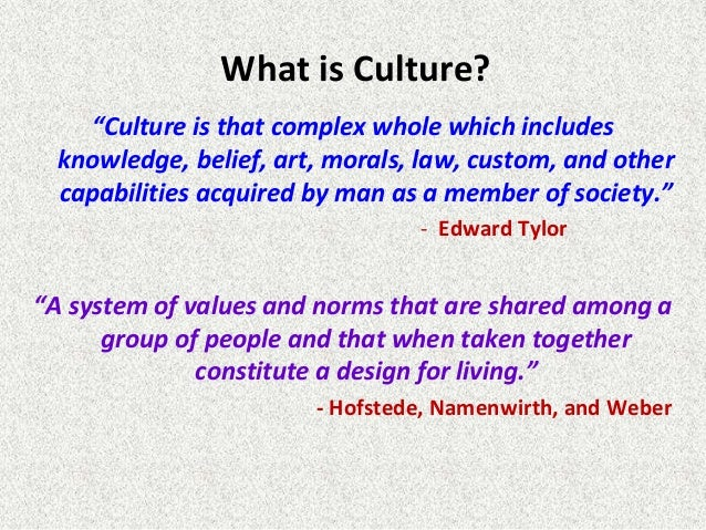 role of culture in international business ppt