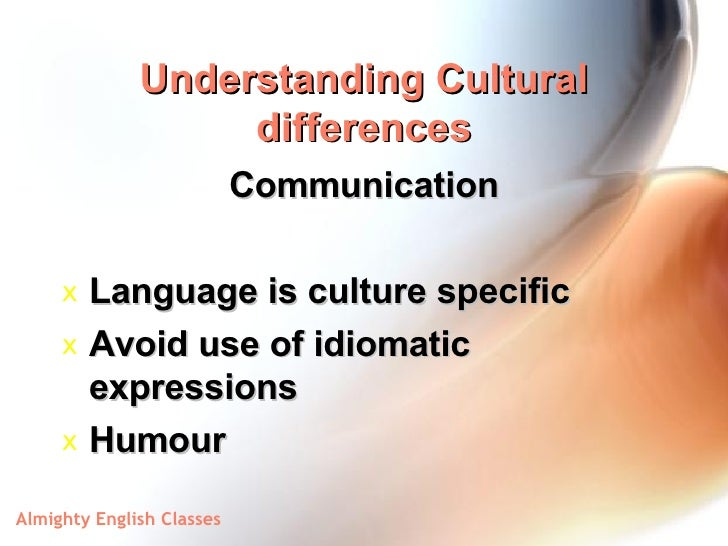 understanding of culture differences for breadtalk Check out our top free essays on cross cultural movie analysis to help  the dimensions of culture as  differences have an impact on understanding.