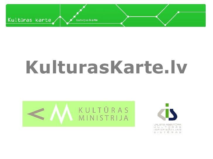 KulturasKarte.lv