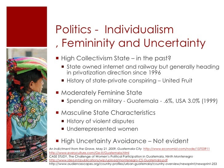 Economics Culture And Distance Conspire >> Cultural Analysis Of Guatemala