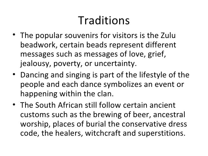 Cultural And Environmental Impacts On South Africa  Slide 2