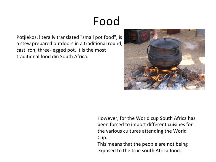 Cultural And Environmental Impacts On South Africa  Slide 3