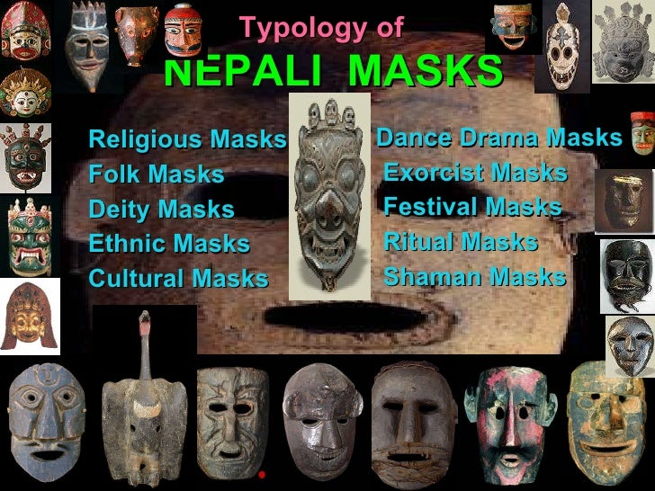 Cultural and Folk Masks of Nepal by Prof  Dr  Shanker Thapa