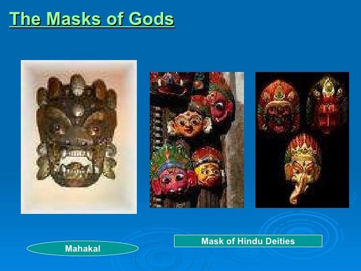 The Masks of Gods Mahakal Mask of Hindu Deities