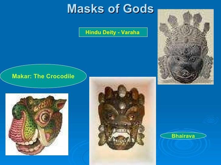 Masks of Gods Makar: The Crocodile Hindu Deity - Varaha  Bhairava