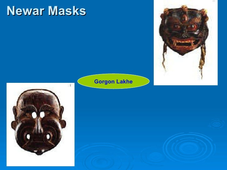 Newar Masks Gorgon Lakhe