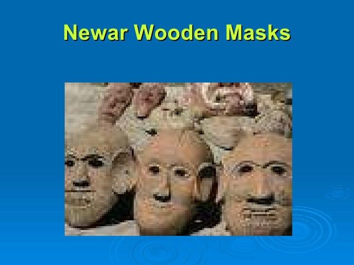 Newar Wooden Masks