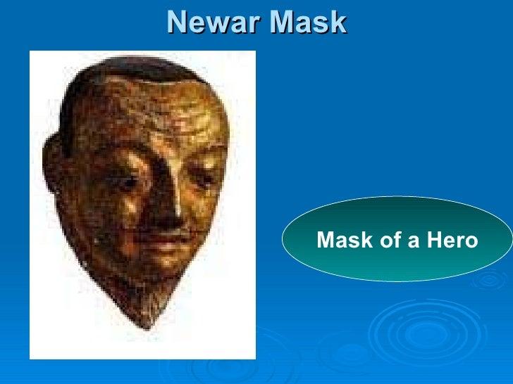 Newar Mask Mask of a Hero