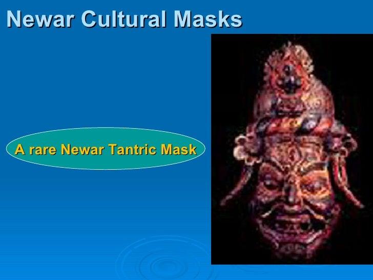 Newar Cultural Masks A rare Newar Tantric Mask