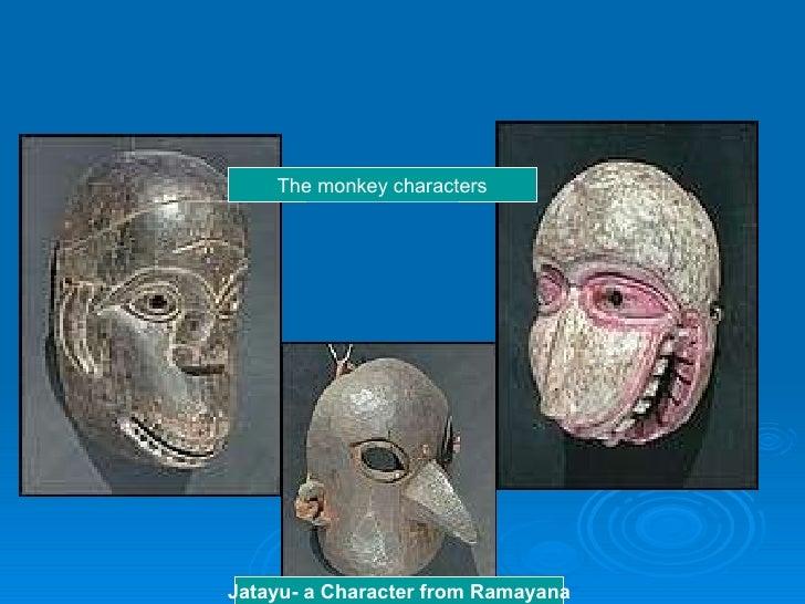 Jatayu- a Character from Ramayana The monkey characters