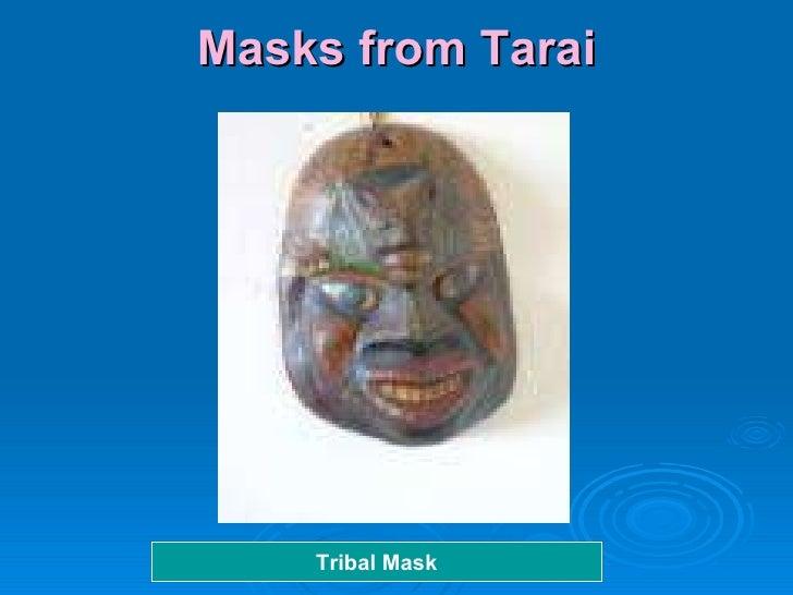 Masks from Tarai Tribal Mask