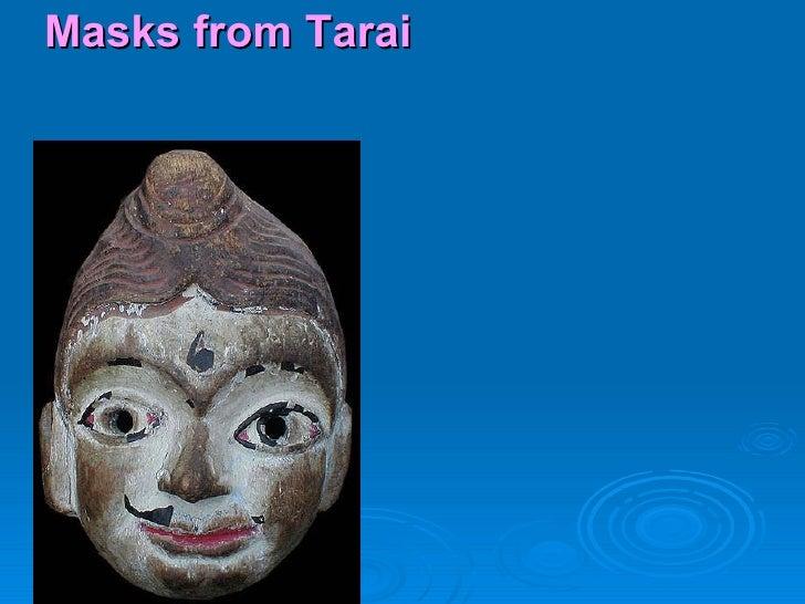Masks from Tarai