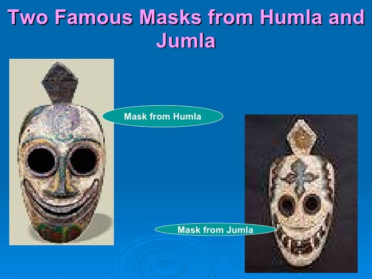 Two Famous Masks from Humla and Jumla Mask from Humla Mask from Jumla
