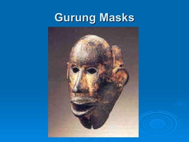 Gurung Masks