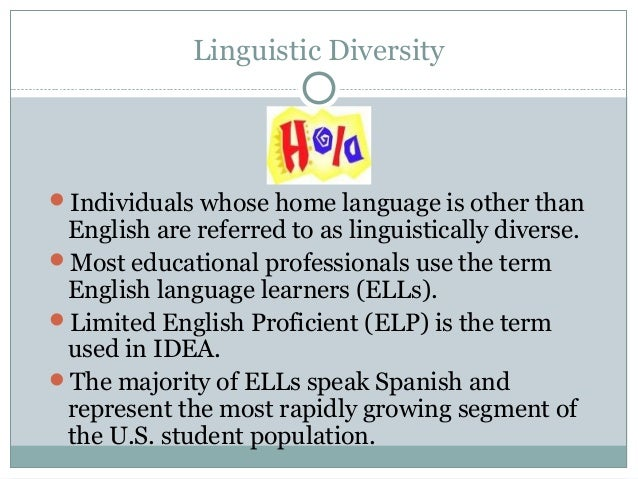 ell240 linguistically culturally diverse learners Ell240wk5finalassignment - running head helping ell in 1  ell240wk5finalassignment  ell 240 linguistically & culturally diverse learners.