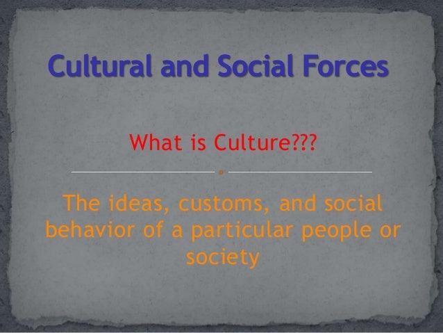 social and cultural forces 3 social and cultural factors in extension contents - previous - next social structure culture social and cultural change social and cultural barriers to agricultural change.