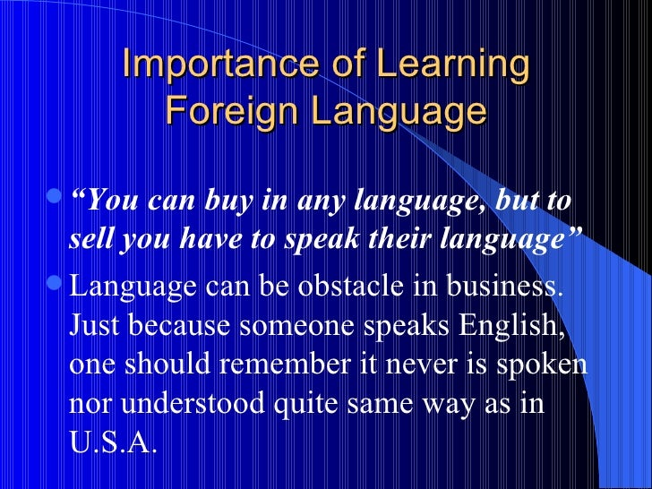 the importance of language etiquette in society 2012-3-3  why culture is important in international  who contributed the piece that follows on the importance  whether it is an individualist or collectivist society,.
